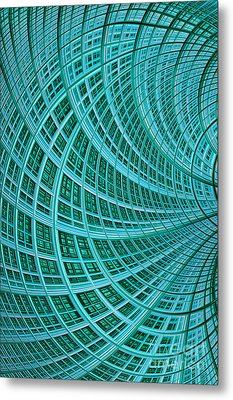Network Metal Print by John Edwards