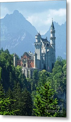 Neuschwanstein Castle 11 Metal Print