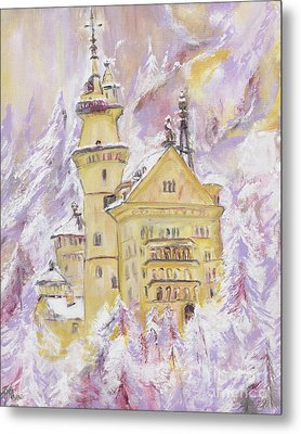 Neuschwanstein Castle  Metal Print by Helena Bebirian