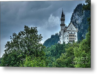 Metal Print featuring the photograph Neuschwanstein Castle by Joe  Ng