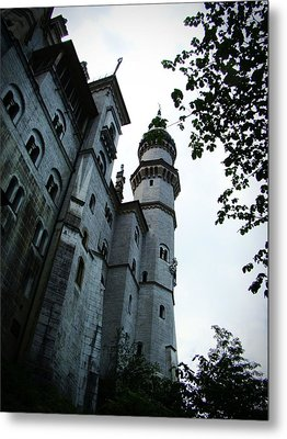 Neuschwanstein Castle Metal Print by Zinvolle Art
