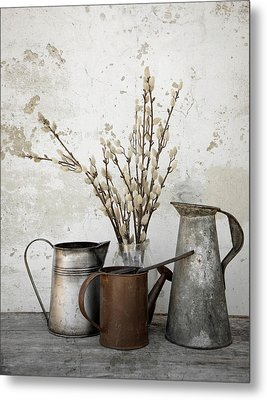 Neutral Metal Print