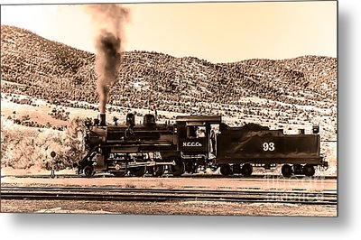 Nevada Northern Railway Metal Print