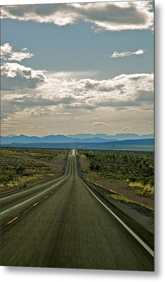 Nevada Road Metal Print