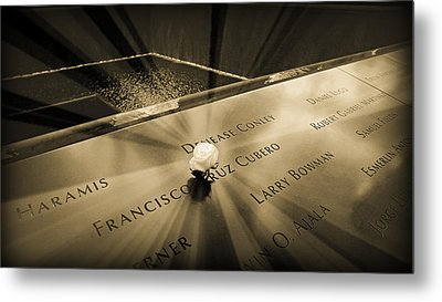 Never Forgotten Metal Print by Stephen Stookey