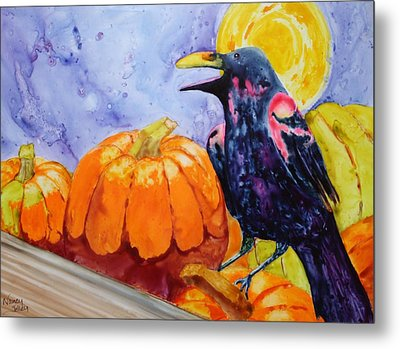 Nevermore Metal Print by Nancy Jolley