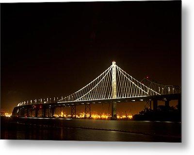 New Bay Bridge Metal Print by Bill Gallagher