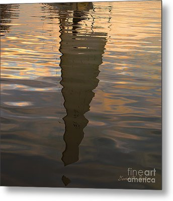 New Bedford Waterfront Xiii Metal Print by Dave Gordon