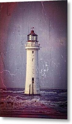 New Brighton Lighthouse Metal Print