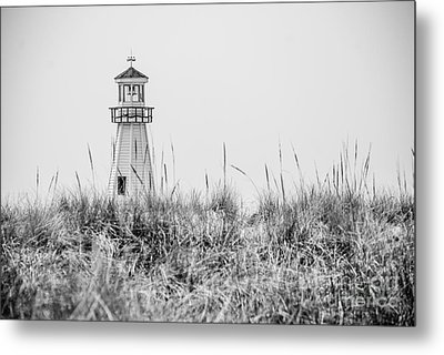 New Buffalo Lighthouse In Southwestern Michigan Metal Print by Paul Velgos