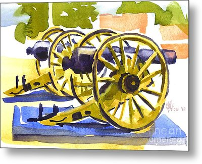 New Cannon Metal Print