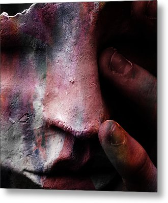 New Colours In Tears  Metal Print by Empty Wall