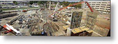 New Commercial Construction Site Metal Print