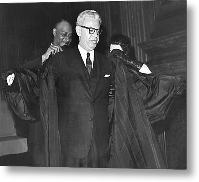 New Court Justice Goldberg Metal Print by Underwood Archives