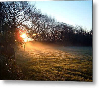 New Dawn Fades Metal Print