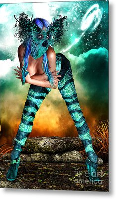 New Earth 3015 Metal Print