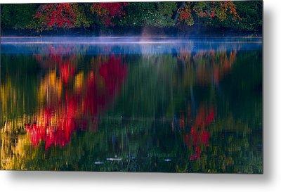New England Fall Abstract Metal Print by Dapixara photos