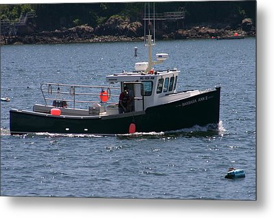 New England Fishing Boat Metal Print by Denyse Duhaime