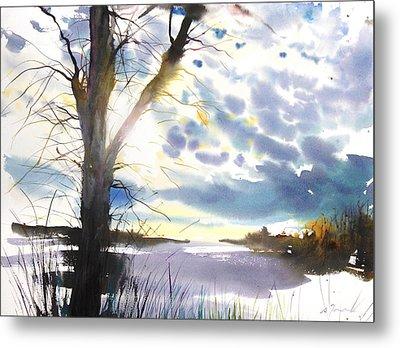 New England Landscape No. 218 Metal Print