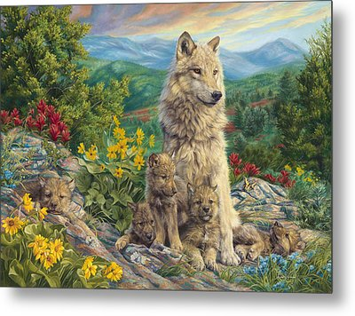 New Generation Metal Print by Lucie Bilodeau