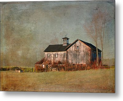 New Hampshire Barn  Metal Print