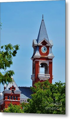 New Hanover County Courthouse Bell Tower Metal Print