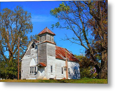 New Hope Mb Church Estill Ms Metal Print