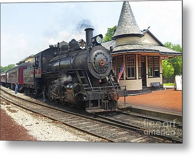 New Hope Station Metal Print