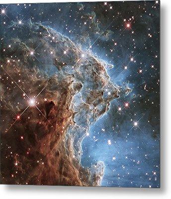 New Hubble Image Of Ngc 2174 Metal Print