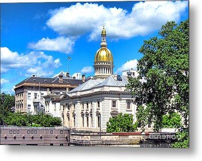 New Jersey Capitol Metal Print