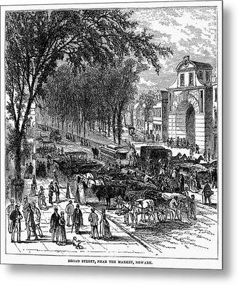 New Jersey Newark, 1876 Metal Print by Granger