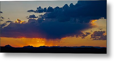 Metal Print featuring the photograph New Mexico Beauty by Atom Crawford
