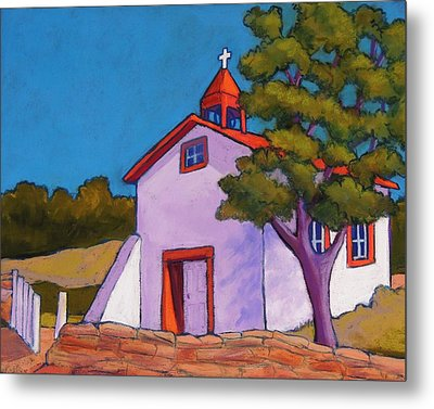 New Mexico Church Metal Print by Candy Mayer