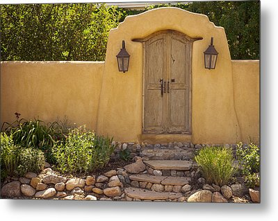 Metal Print featuring the photograph New Mexico Facade # 1 by Don McGillis