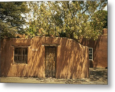 Metal Print featuring the photograph New Mexico Facade # 2 by Don McGillis