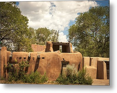 Metal Print featuring the photograph New Mexico Facade # 3 by Don McGillis