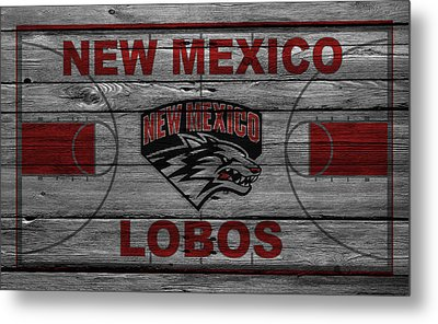 New Mexico Lobos Metal Print