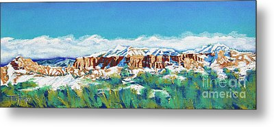 New Mexico Skyline Metal Print by Tracy L Teeter
