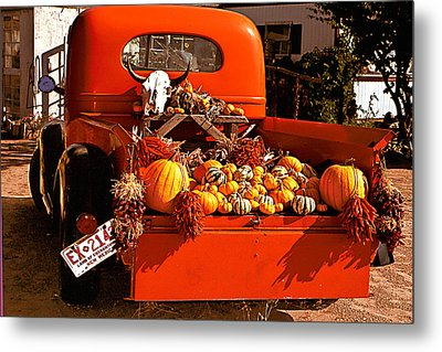 New Mexico Truck Metal Print by Jean Noren