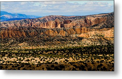 Metal Print featuring the photograph New Mexico View by Atom Crawford
