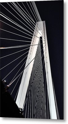 New Mississippi River Bridge Metal Print