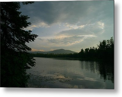 Metal Print featuring the photograph New Morning On Lake Umbagog  by Neal Eslinger