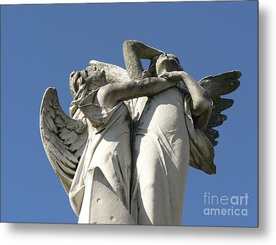 Metal Print featuring the photograph New Olreans Angel 6 by Elizabeth Fontaine-Barr