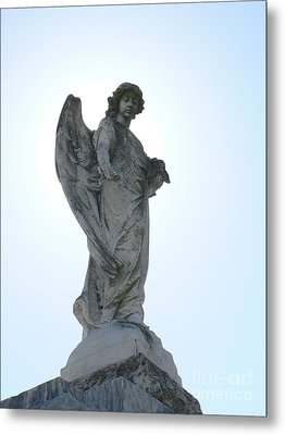 Metal Print featuring the photograph New Orleans Angel 2 by Elizabeth Fontaine-Barr