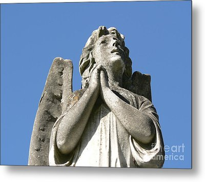 Metal Print featuring the photograph New Orleans Angel 4 by Elizabeth Fontaine-Barr