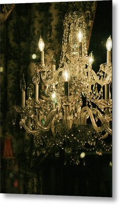 New Orleans Chandelier Metal Print by Heather Green