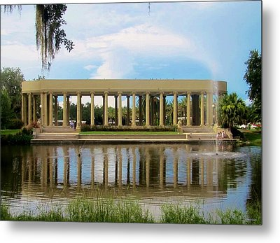 New Orleans City Park - Peristyle Metal Print