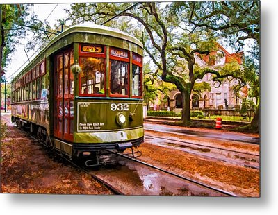 New Orleans Classique Oil Metal Print by Steve Harrington