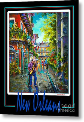 New Orleans Metal Print by Dianne Parks