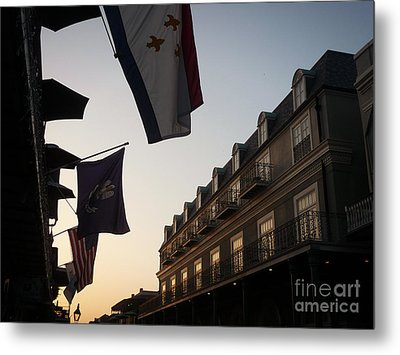 Evening In New Orleans Metal Print